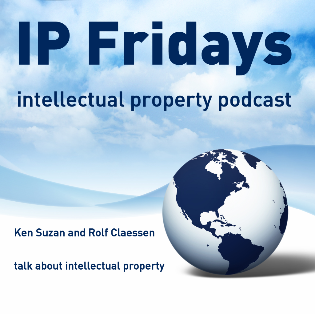 IP Fridays - podcast about patents, trademarks and designs